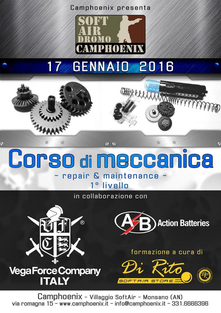 corso meccanica softair